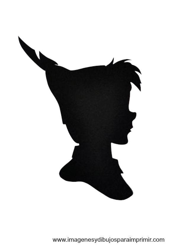 peter pan Disney printable silhouettes