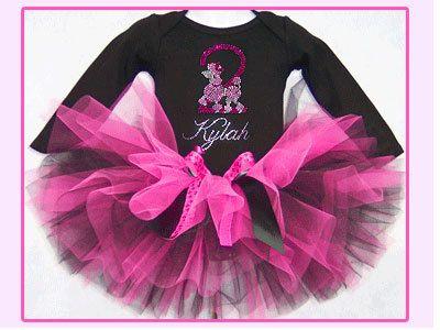 Poodle Tutu Set Pink Paris Poodle Tutu Set with by gigitexas