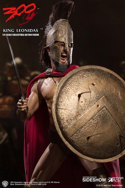 BLOG DOS BRINQUEDOS: King Leonidas 300