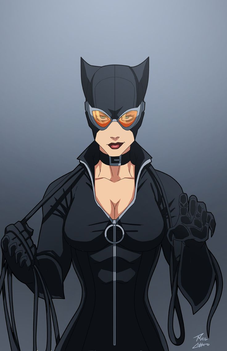 Catwoman by phil-cho.deviantart.com on @DeviantArt