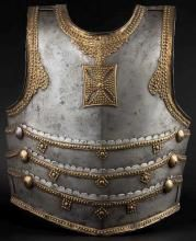 A Polish Hussar cuirass, 17th century