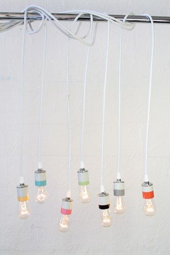 #decoratecolorfully porcelain pendant lights by urban chandy