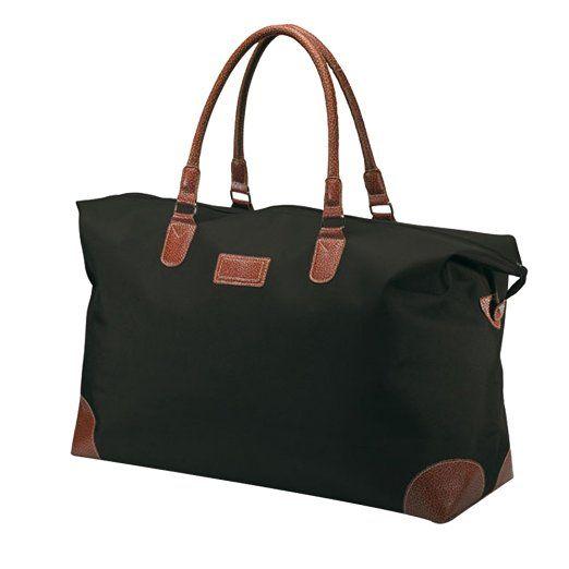 Large Luggage Travel Bag - Weekend Shoulder Holdall Overnight Bag (Black)