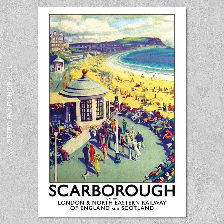 1960/'s British Railways Plymouth Railway Poster A3 Print