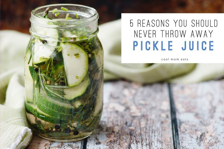 Cool kitchen hacks: 5 reasons you should never throw away pickle juice.