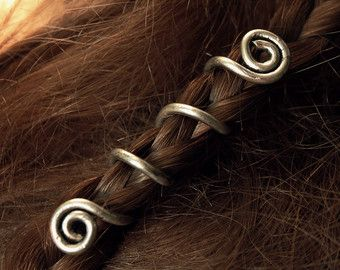 DIY inspo - Spiral hair wrap