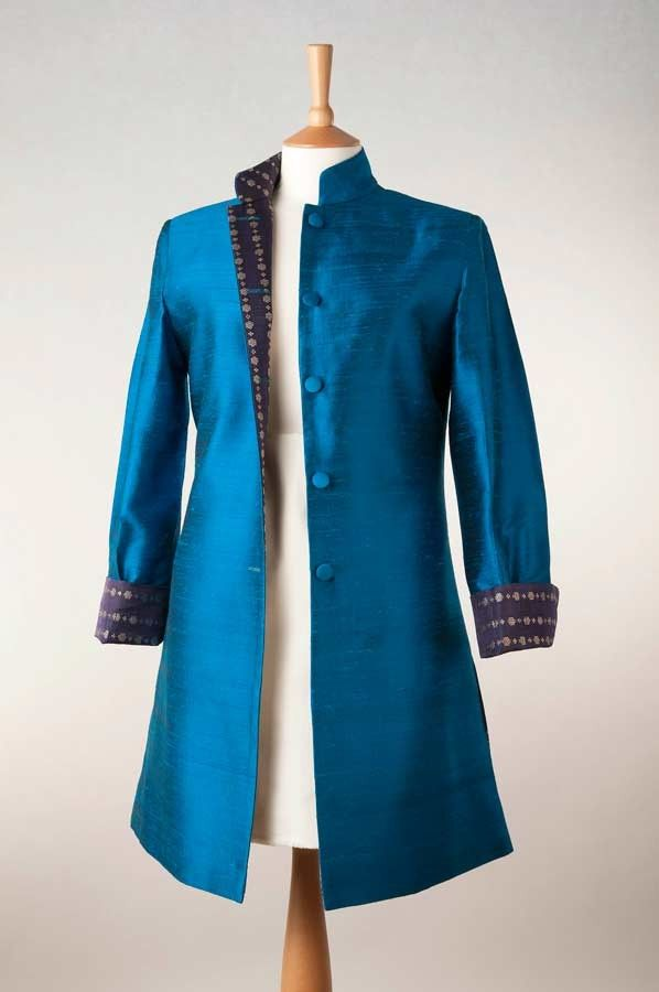 Silk Dress Coat