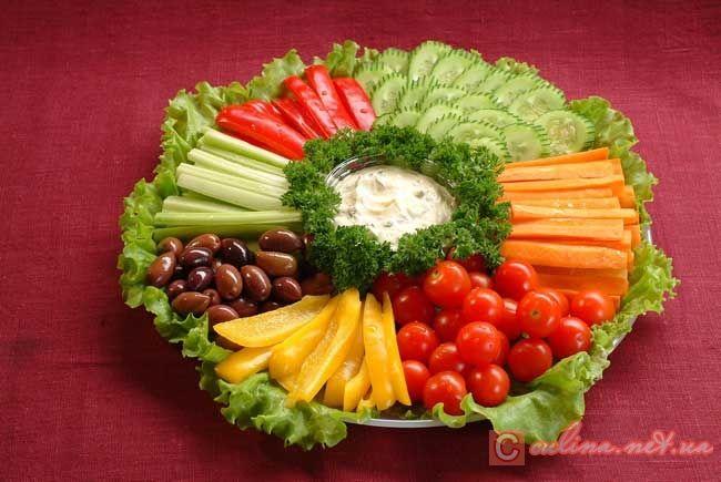 Волшебная овощная нарезка - фото