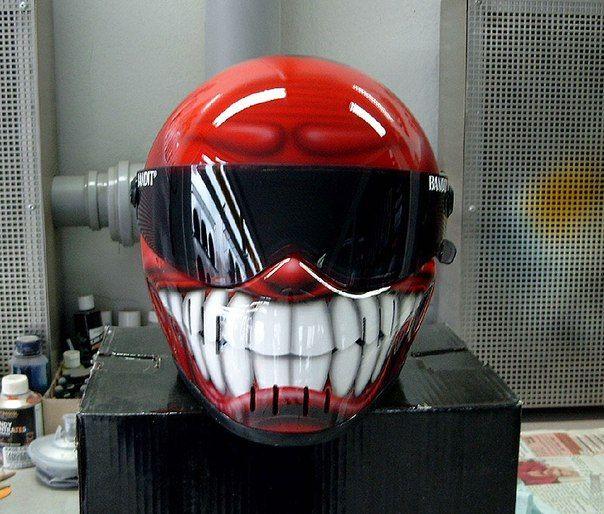 шлем с зубами фото классического стиля рекомендуем
