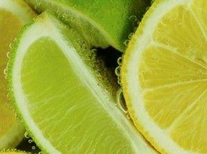 Sliced Lemon and Lime --- Image by © Corbis