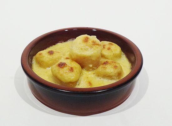 Рецепт приготовления изысканных Гребешков запеченные в сливочном соусе простой и вкусный
