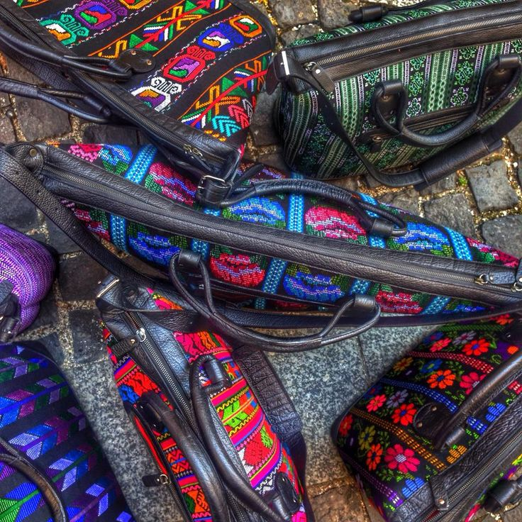 Morning Train Guatelama bag collection
