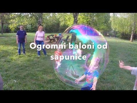 Napravite sami ogromne balone od sapunice - MamaiTata