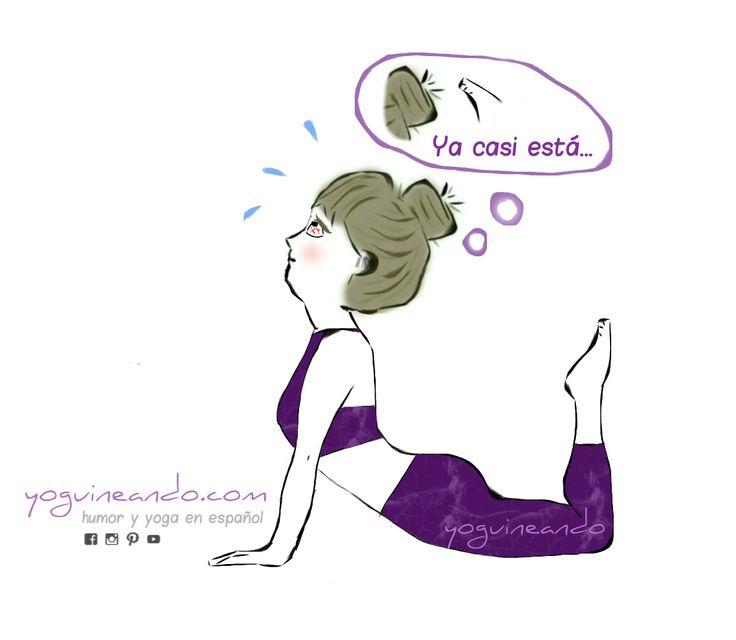 No sé a vosotros pero a mí me sale papada cuando intento hacer un backbend, y además tengo la sensación de que cuánto más suba las cejas más lejos llegaré en la postura. ¿Y qué me decis de esa maravillosa sensación de pensar que no te queda nada para llegar, hacerte una foto y comprobar que estás a años luz de conseguirlo? Pero recurriré al topicazo (cierto, por otro lado) de que el objetivo del yoga no es tocarte la cabeza con los dedos de los pies, sino sentir y disfrutar esa apertura de…