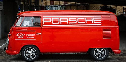 Porsche design Ben Pon: Grab Bags, Vdub Bus, Vw Microbus, Porsche Bus, Porsche Design, Porsche T1, Bus Projects, Vw Bus, Cars Stuff