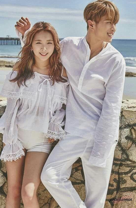 Jiwoo and J.Seph