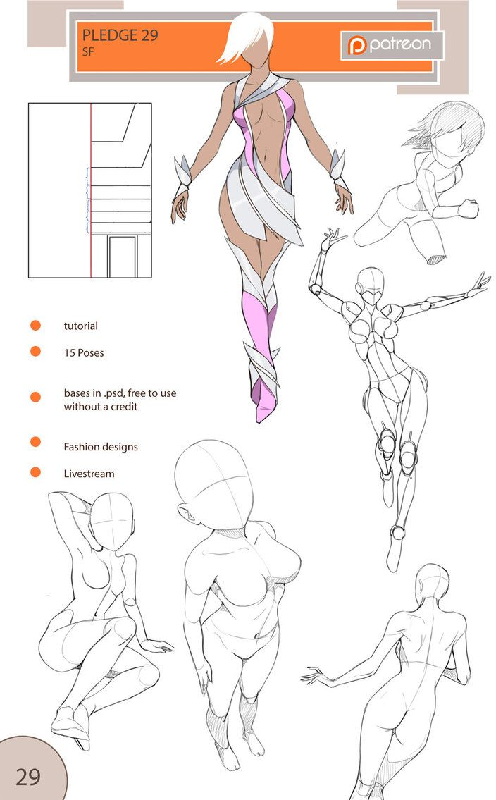 www.patreon.com/precia  -  by supporting me there you get full tutorials, poses, bases, fashion designs,  sketches and get access to livestreams.  I sell packs outside the...