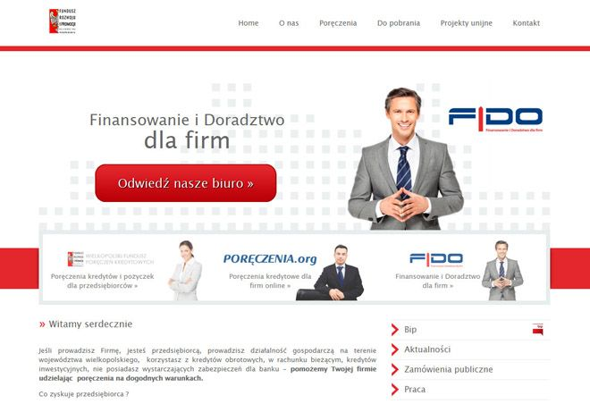 FRIPWW website design http://www.design-pro.com.pl/fripww,47.html