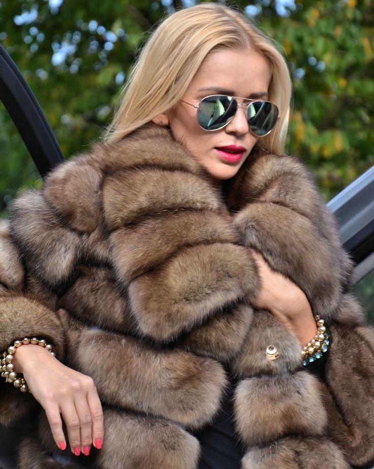 178 best Sable fur images on Pinterest | Fur fashion, Fur coats ...