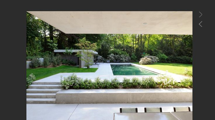 Dart - Pool elevated and sunken patio off lower level walk-out