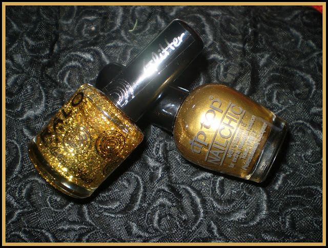Leah beauty : MANICURE GO GLITTER GO FOR GOLD - RALO COSMETICS