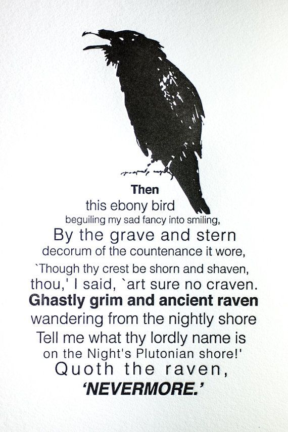 the raven essay question Symbolism of the raven word count: 2111  essays related to symbolism of the raven 1  the speaker asks the raven questions and the raven responds only with .