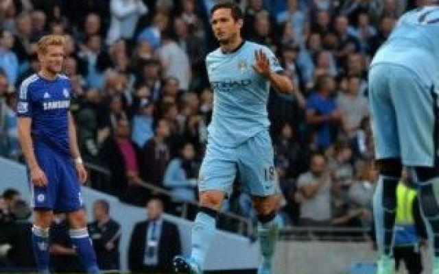 Il Destino si e' messo in mezzo, Lampard stoppa la fuga del Chelsea, (video gol) #lampard #chelsea #city #mourinho