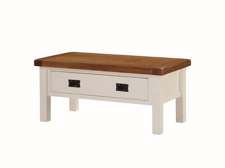 Heritage Small Coffee Table With Drawer