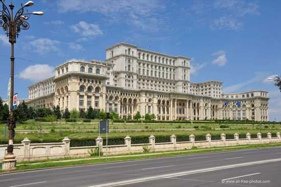 Boekarest Paleis van het Volk Roemenië