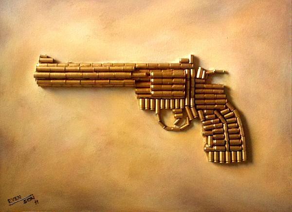 colt bullet art