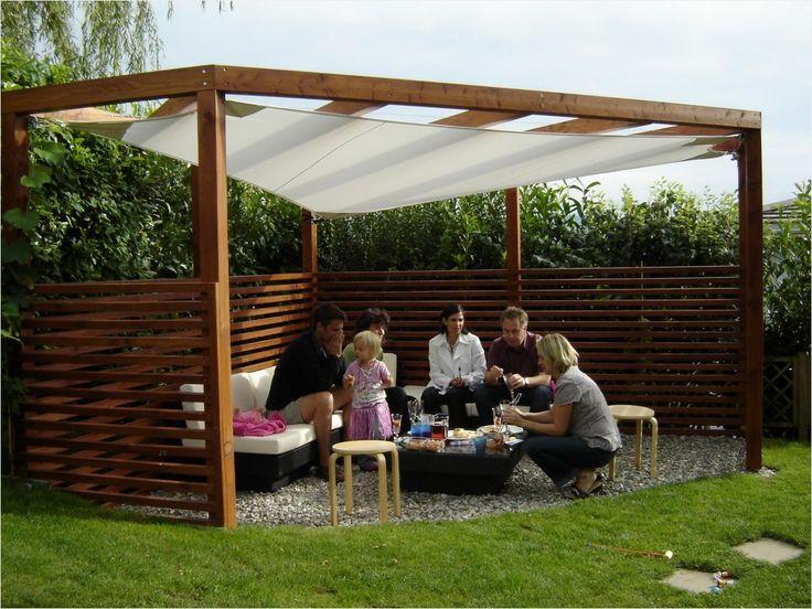 bildresultat f r pergola mit sonnensegel selber bauen diy pinterest patios and corner. Black Bedroom Furniture Sets. Home Design Ideas