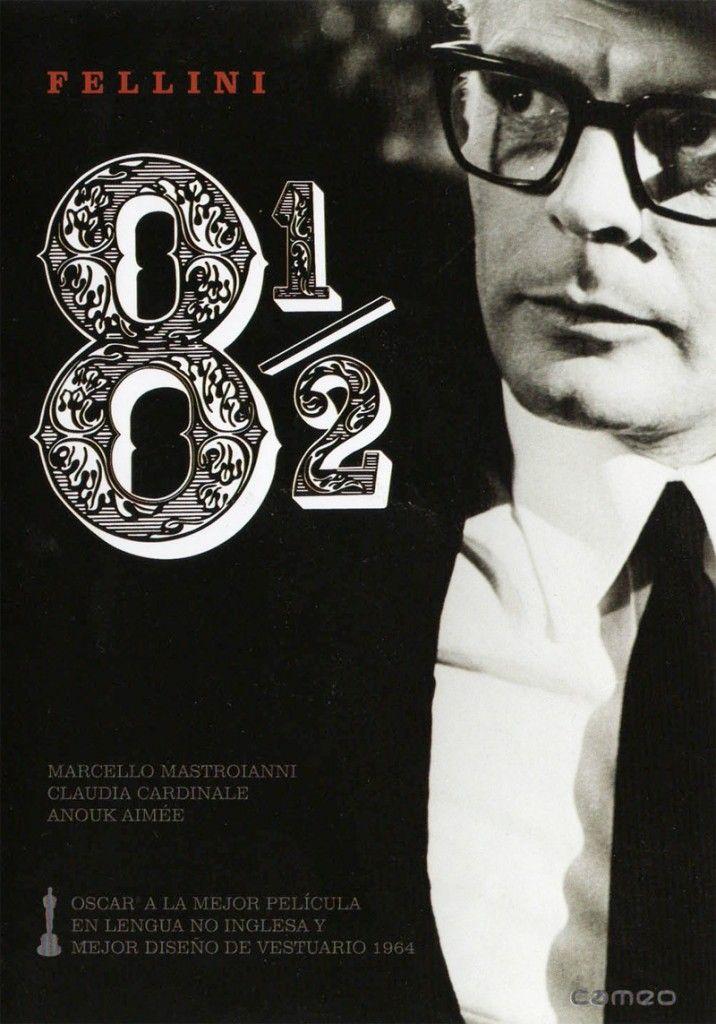 FELLINI 8½ - Federico Fellini - 1963 - 'Fellini 8 y medio'