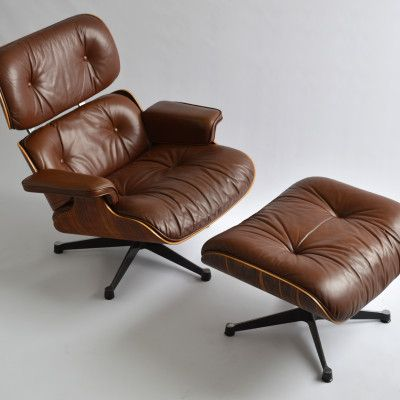 Herman Miller by Vitra Eames Lounge Chair Brown 1980-03