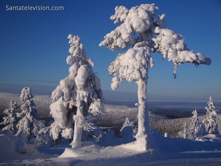 View of Levi Mountain resort in Lapland in Finland. More information : www.levi.fi/en/home.html