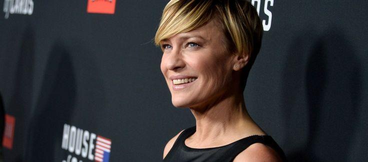[On aime] La femme de la semaine : robin wright, celle qui a fait valoir ses droits de femme à hollywood - Au feminin @aufeminin