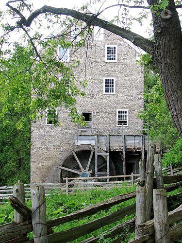 Roblin's Mill, Black Creek Pioneer village Part of my maternal family heritage...