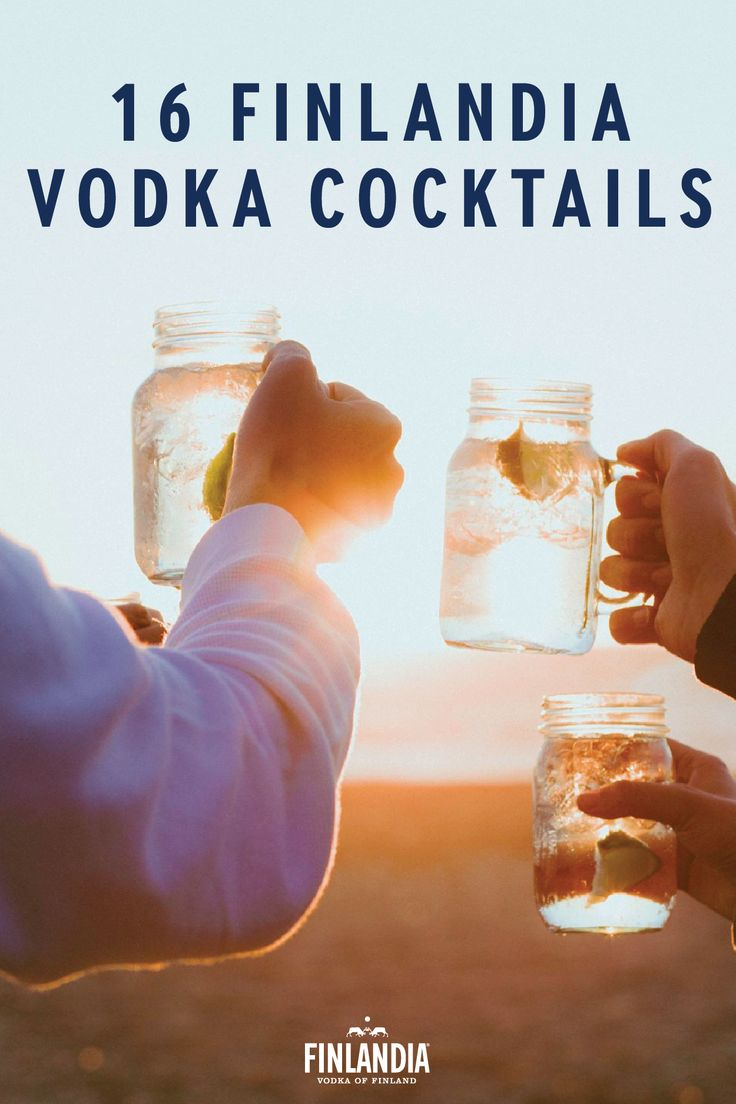 When entertaining, cheers to friends, family and good fortune while holding a delicious and flavorful vodka cocktail. With 16 options to choose from, you are sure to find the best recipe for any occasion. Use Finlandia Vodka to create a delicious taste.
