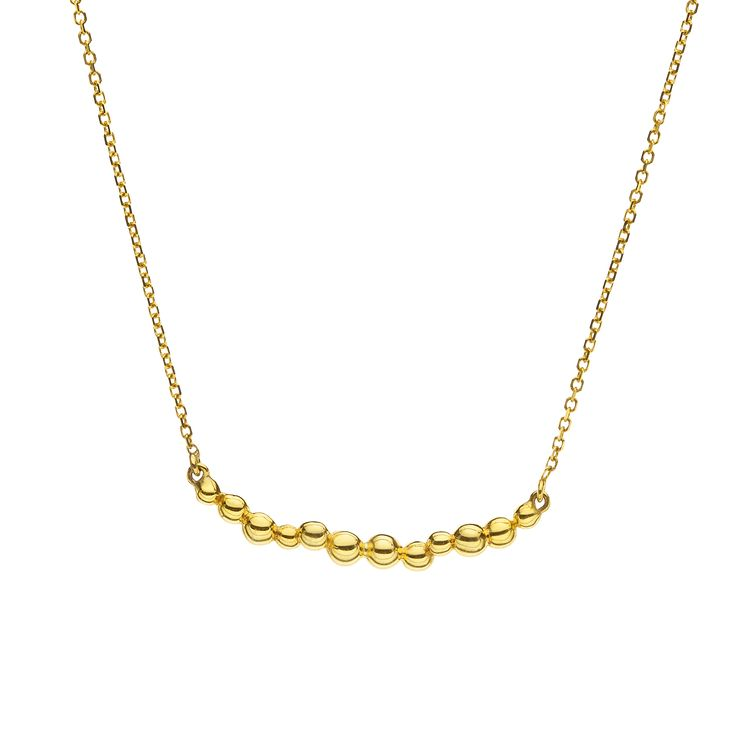 Yellow gold necklace #huffyjewels www.huffyjewels.com