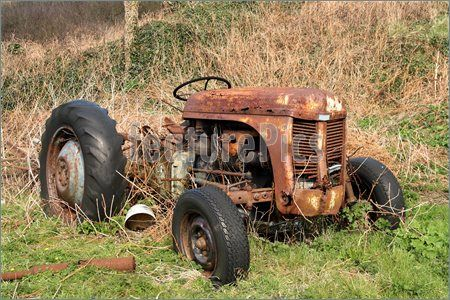 images of vintage tractors | Antique Tractor For Sale | down on ...