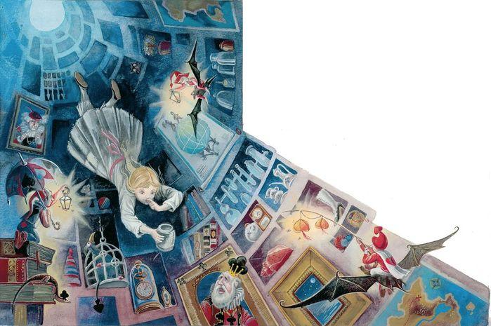 0_f8890_82335c25_XXL (700x465, 340Kb) Иллюстратор Максим Митрофанов -«Алиса в стране чудес»