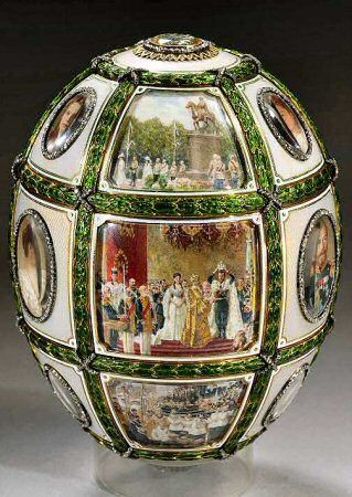 48 best faberge eggs images on pinterest faberge eggs easter the fifteenth anniversary egg a faberge imperial easter egg presented by tsar nicholas ii to his wife the empress alexandra feodorovna at easter 1911 negle Gallery