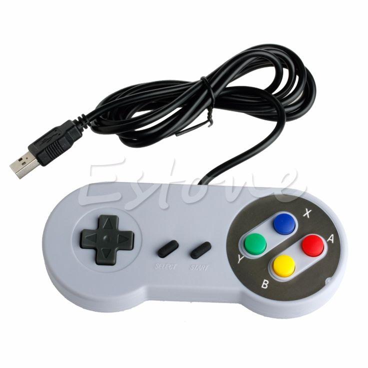 >> Click to Buy << Cool USB Controller For Super Nintendo SNES PC/ Mac Emulator NES Windows GamePad - L060 New hot #Affiliate