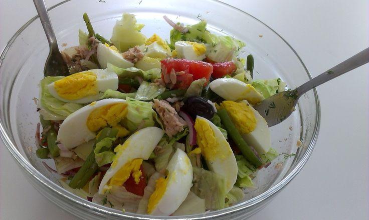 Reteta Salata nicoise - Salate
