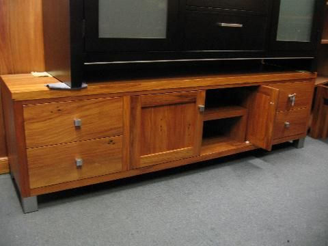 recycled rimu entertainment units