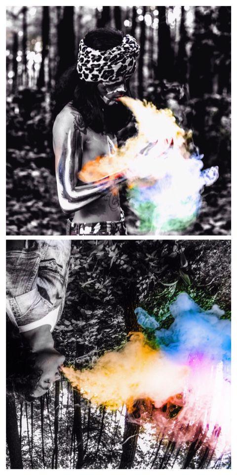 smoke ....