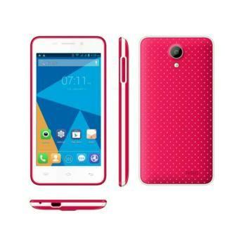 Jual beli Handphone smart phone hp cina 3G ram 1 gb rom 8 gb  Doogee Leo DG280 4,5 inci warna merah di Lapak Barokah Store - nikeisha_motorcycle. Menjual HP & Smartphone - Spesifikasi  Layar: 854*480 pixels, 4.5 Inch Memory: 8GB Ram: 1GB Android OS: Android 4.4 Konektivitas: GSM / HSPA  Chipset: Quad-core 1.3 GHz Kamera Depan: 1.3MP front camera Kamera Belakang: 5.0MP back camera Baterai : 1800mAh