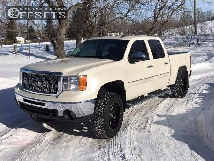 2009 Gmc Sierra 1500 Fuel Maverick Rough Country Suspension Lift 35in