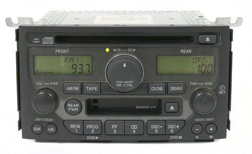 Honda 2003-2005 Pilot AM FM Radio Single CD Cassette Player 39100-S9V-A210 1TV0
