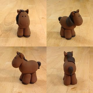 how to make a sugar paste horse