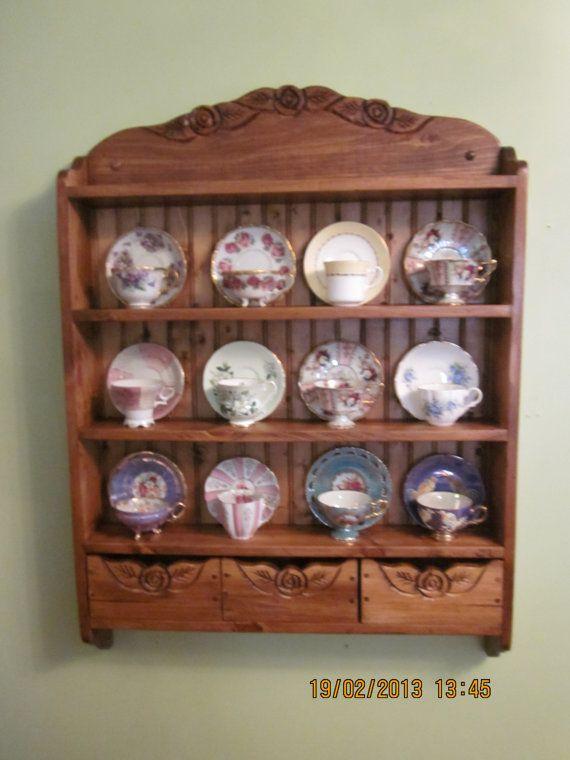 27 Best Images About Tea Cup Shelf On Pinterest